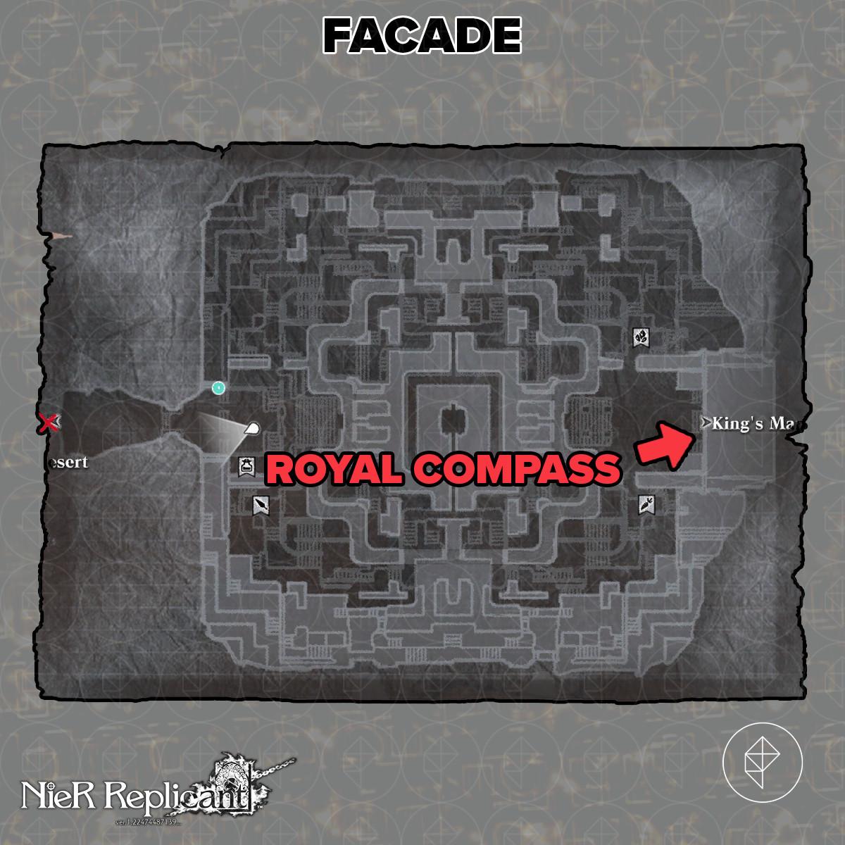 Nier Replicant Royal Compass