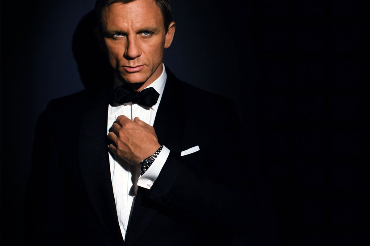 A promotional photo for the 2006 James Bond movie Casino Royale, to which the alleged Russian spies bear zero resemblance