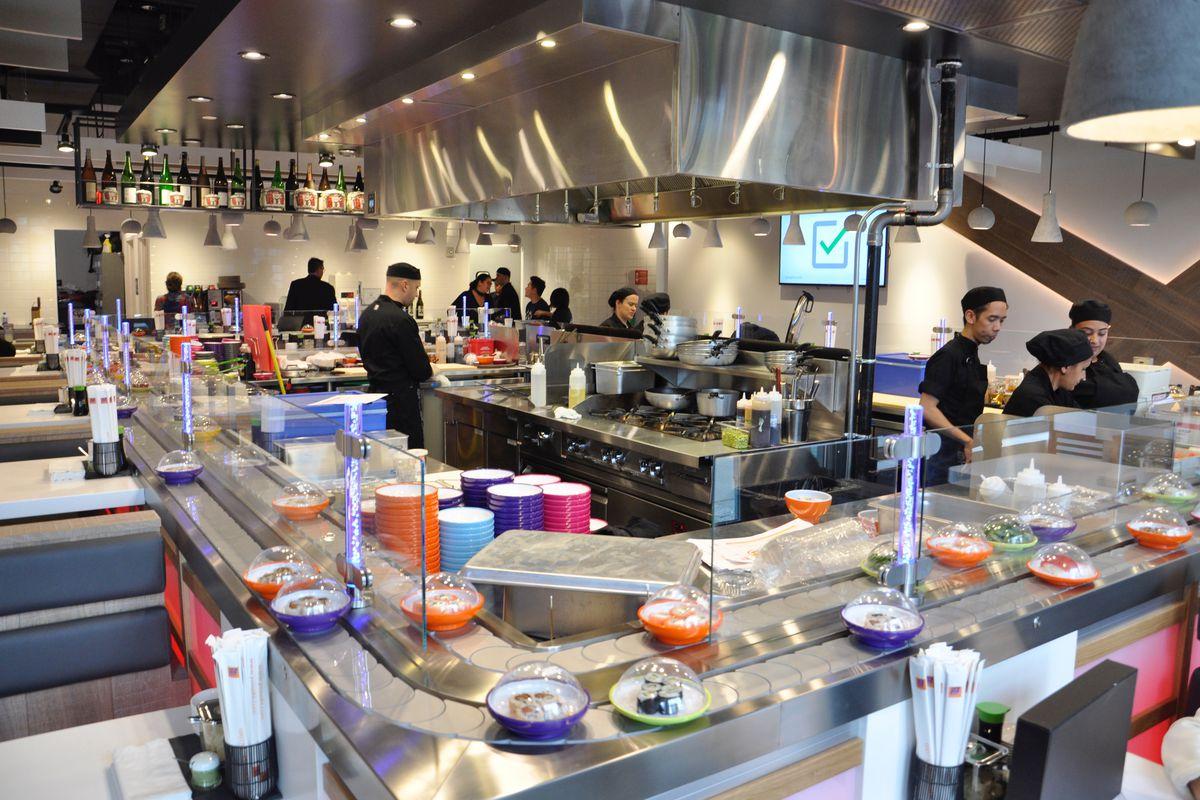 Yo! Sushi Seaport