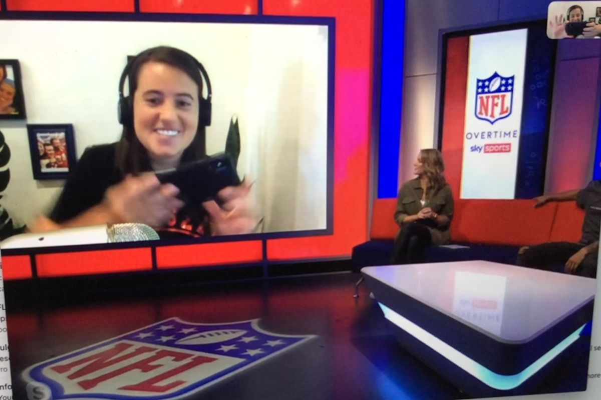 Erica Tamposi NFL