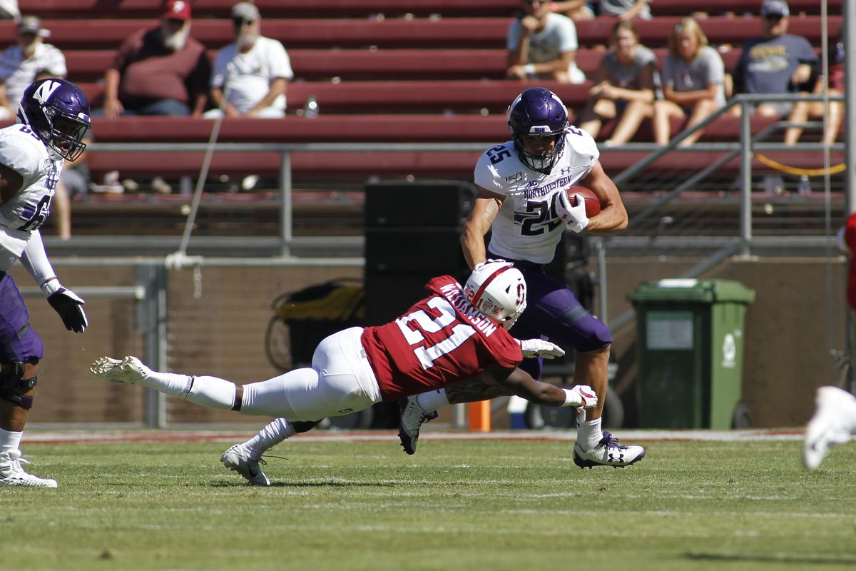 COLLEGE FOOTBALL: AUG 31 Northwestern at Stanford