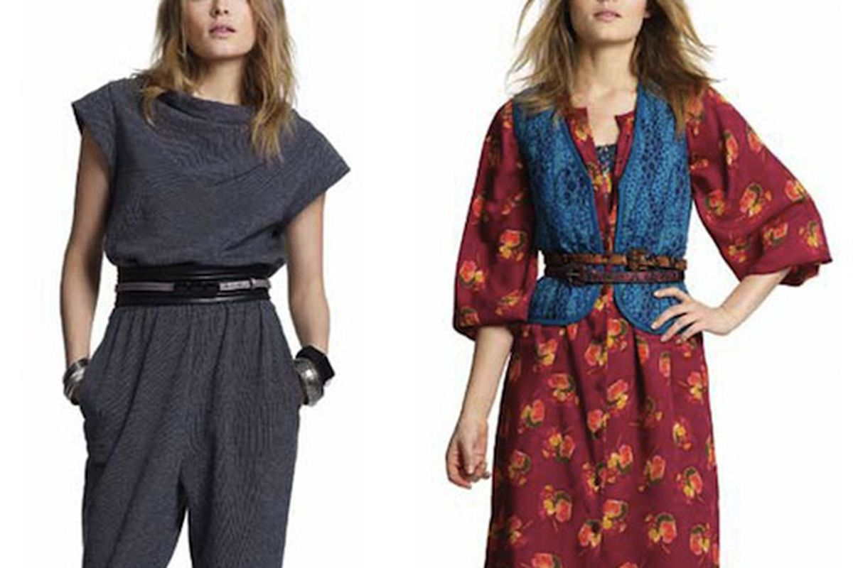 """We liked the jumpsuit more before we found out it's fleece. Images via <a href=""""http://www.nitrolicious.com/blog/2010/08/06/tucker-by-gaby-basora-for-target-first-look/"""">Nitrolicious</a>."""