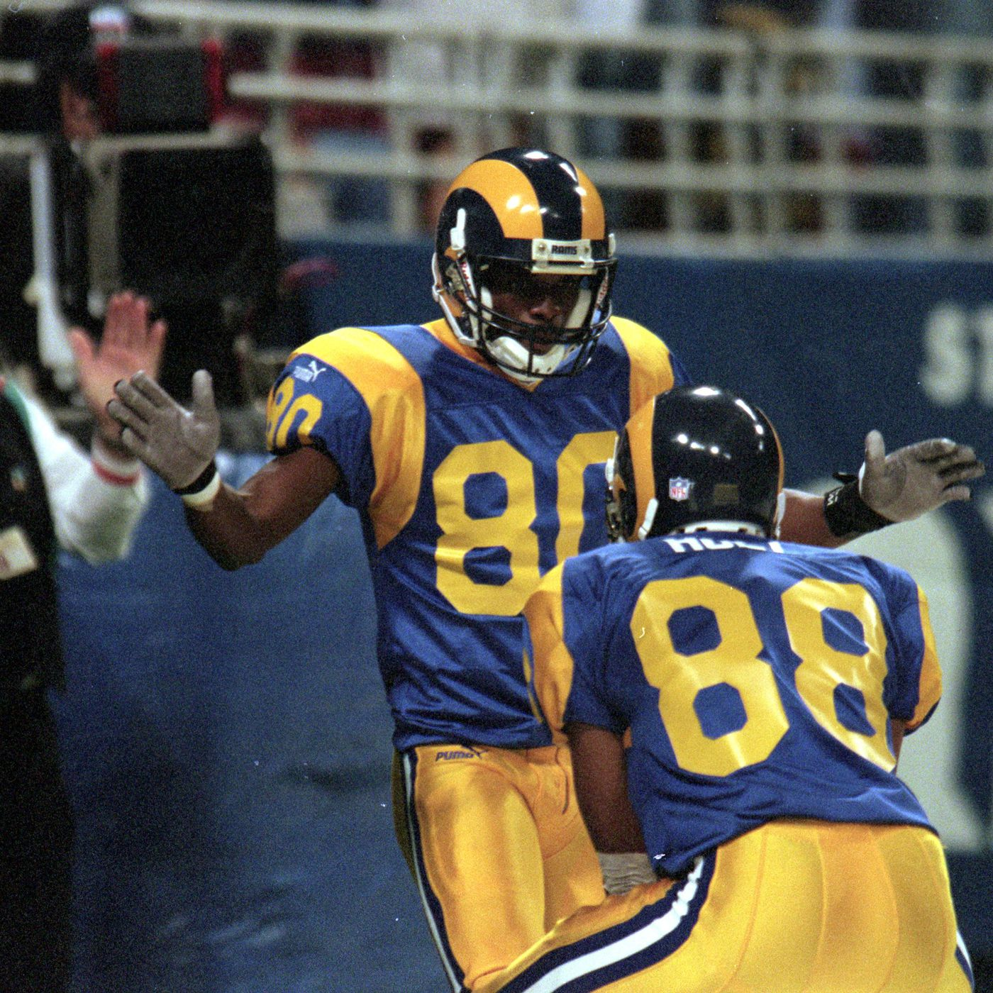 5cc09f9c4f0 Los Angeles Rams: New Unis On The Way. What Color Combo Would You Choose?