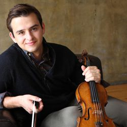 Utah-native violinist William Hagen will perform with the Utah Symphony during the 2017-18 season.