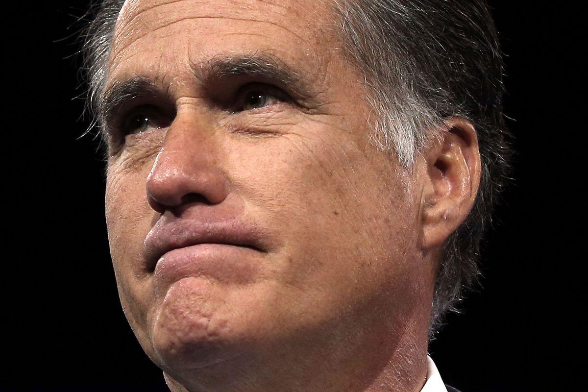 Utah Senator Mitt Romney.