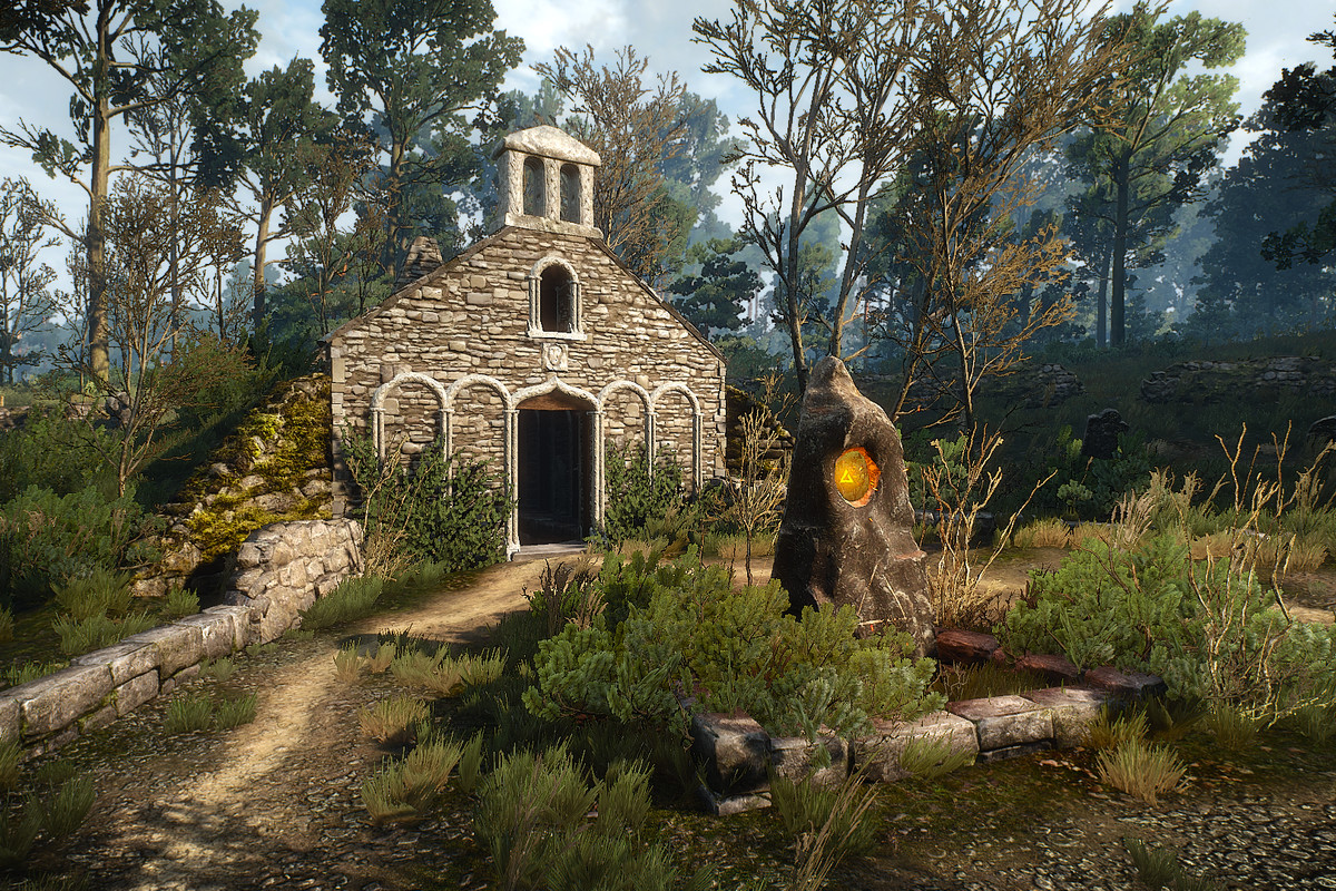 The Witcher 3 White Orchard Places of Power