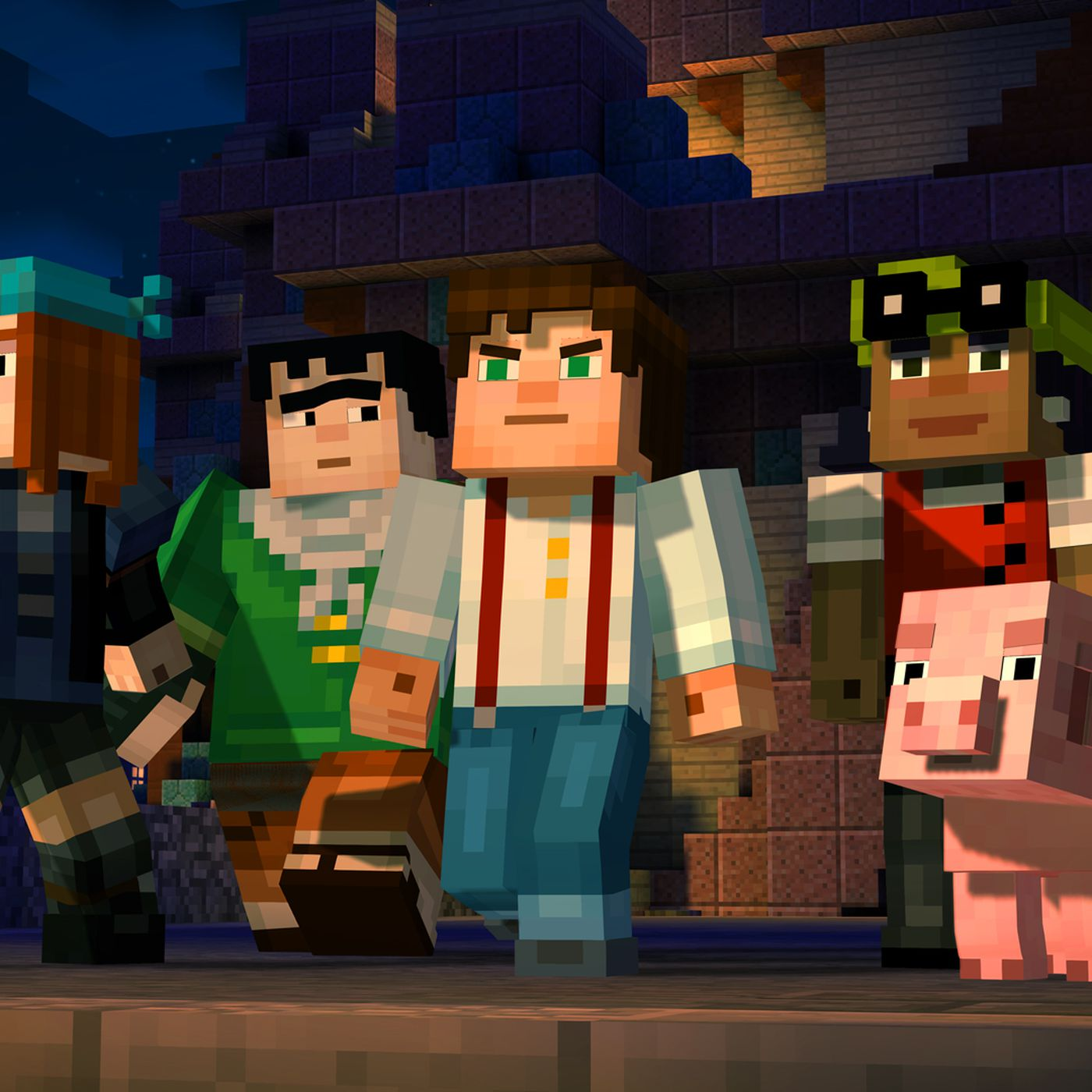 Minecraft: Story Mode is being pulled from stores on June