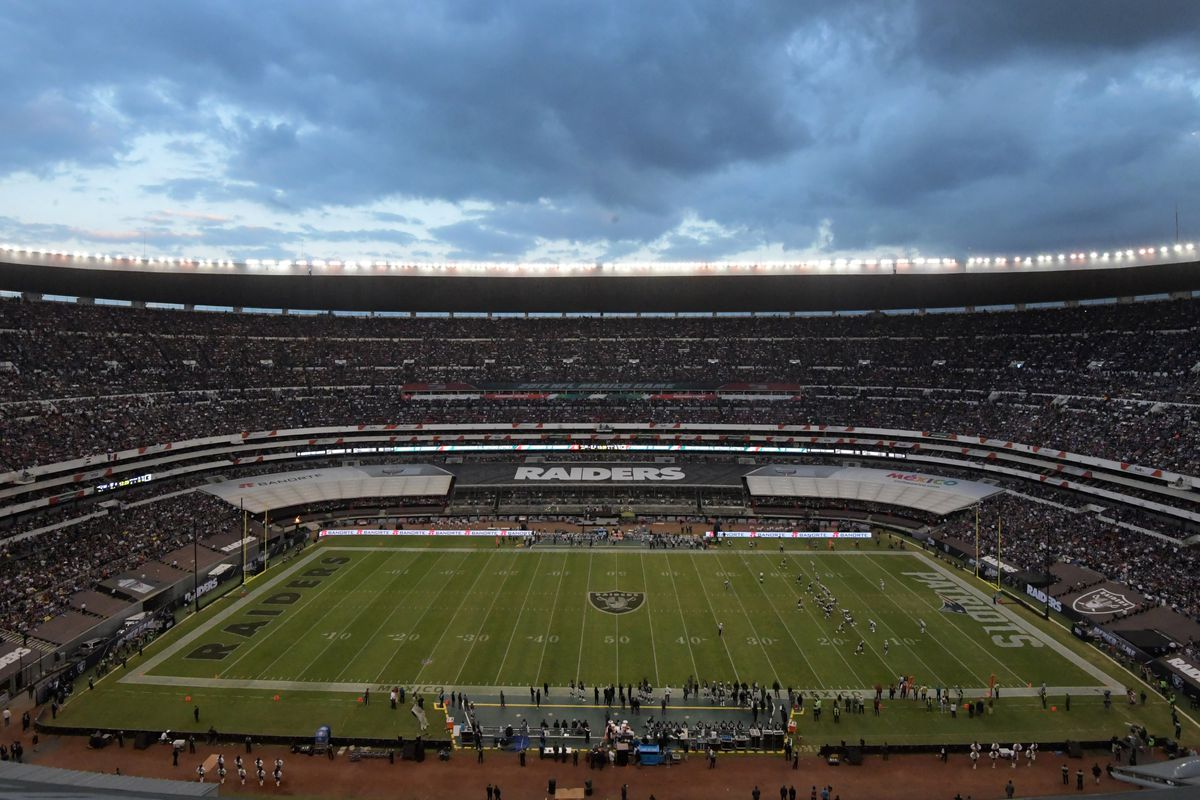 56f18d0cab4fa NFL moves Chiefs-Rams game from Mexico City to Los Angeles due to unsafe  field conditions