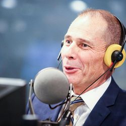 Republican John Curtis gives his opening statement during an on-air debate between 3rd Congressional District candidates hosted by KSL Newsradio's Doug Wright in Salt Lake City on Tuesday, Oct. 10, 2017. Curtis, who is mayor of Provo, is vying to fill the remaining year of former GOP Rep. Jason Chaffetz's term. Chaffetz, now a Fox News contributor, resigned June 30.
