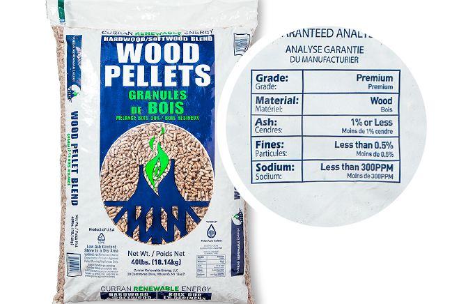 Wood Pellet Bag