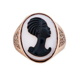 Jacquie Aiche's cameo rings are the new heirloom (Rihanna has this one).