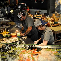 More looks at the raw bar at Culinary Dropout. Photo by Susan Stapleton