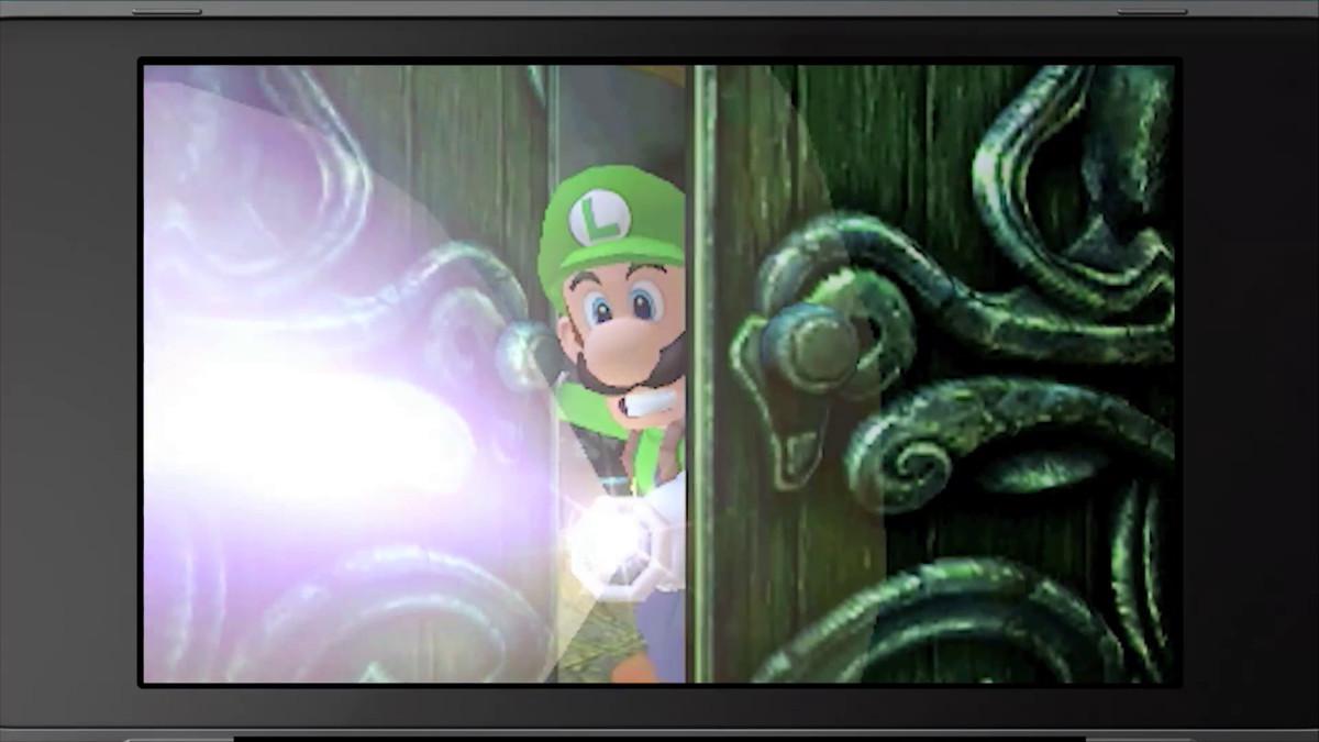 Luigi's Mansion remake on Nintendo 3DS