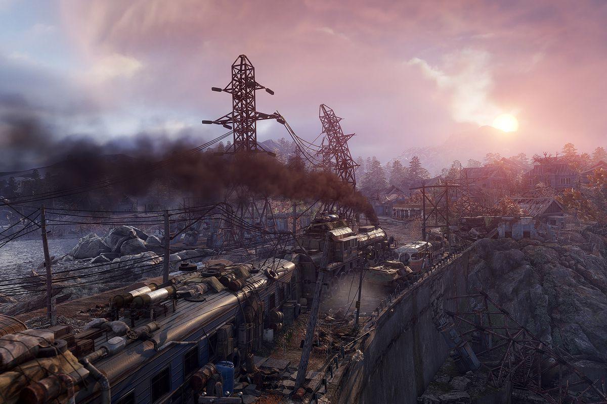 An environment screenshot in Metro Exodus