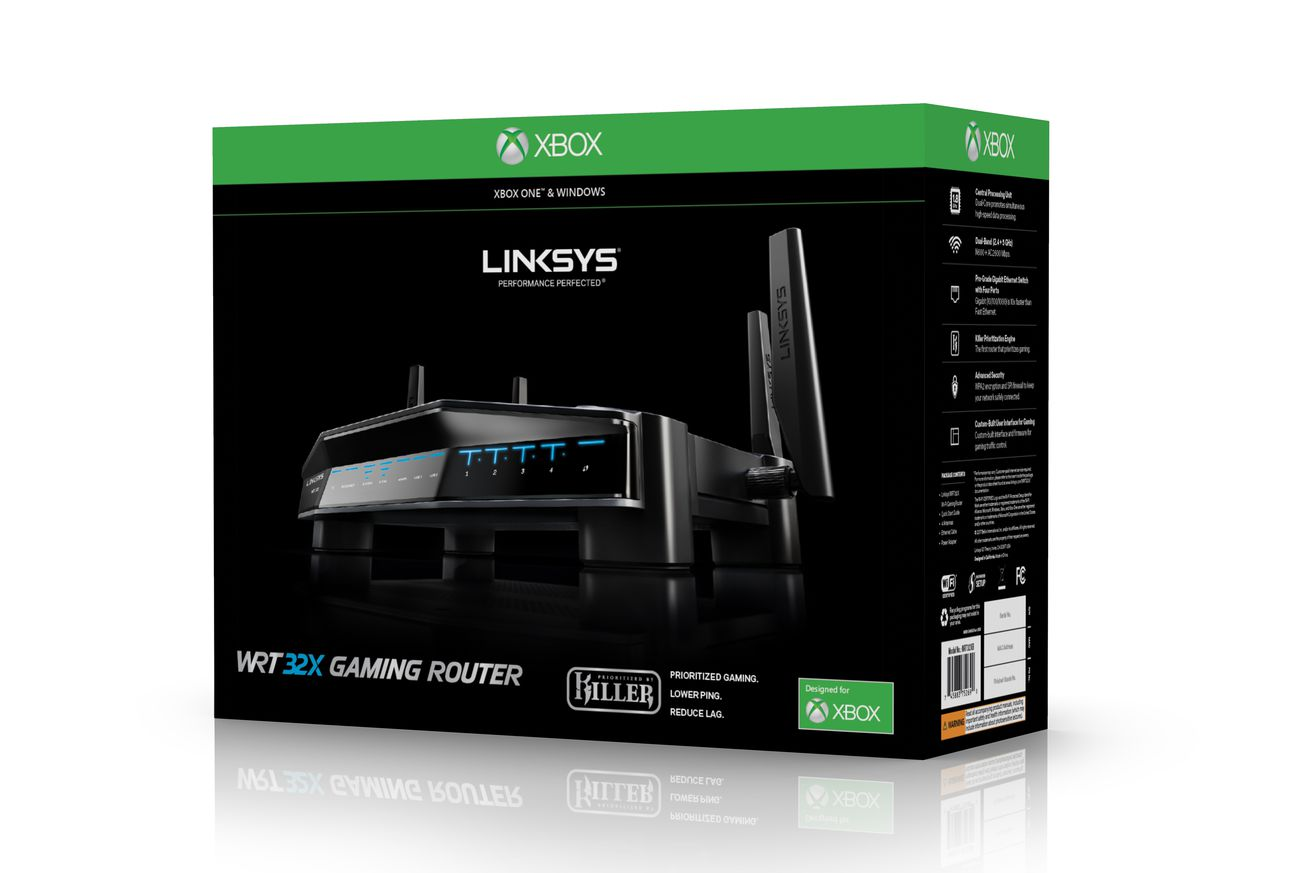 linksys xbox one router is now shipping
