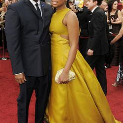Lee Daniels and daughter Clara arrive at the 82nd Academy Awards Sunday.