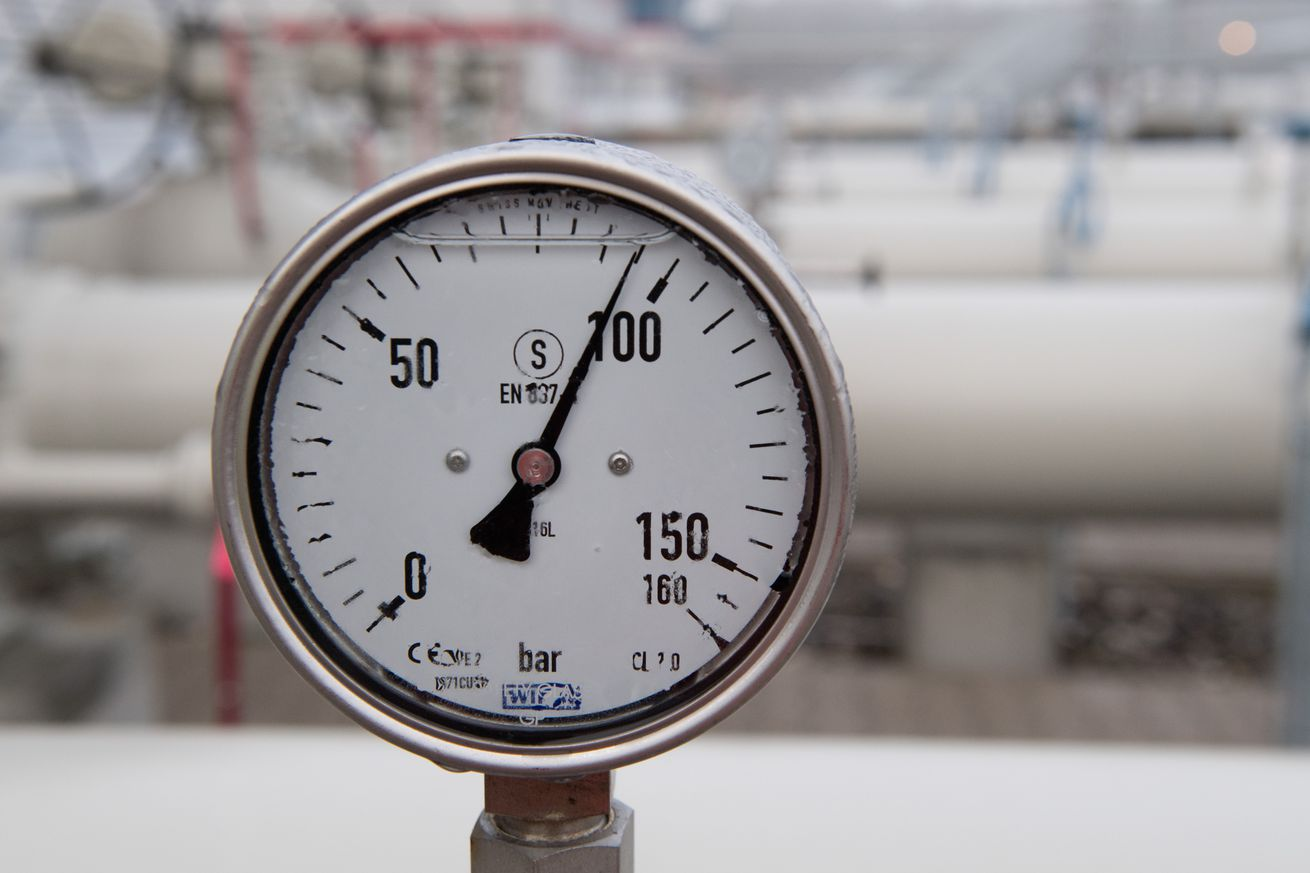 Eugal natural gas pipeline completed