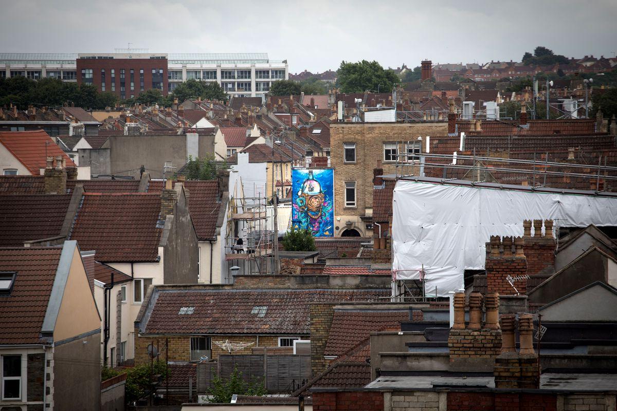 Graffiti Artists Take Part In UpFest