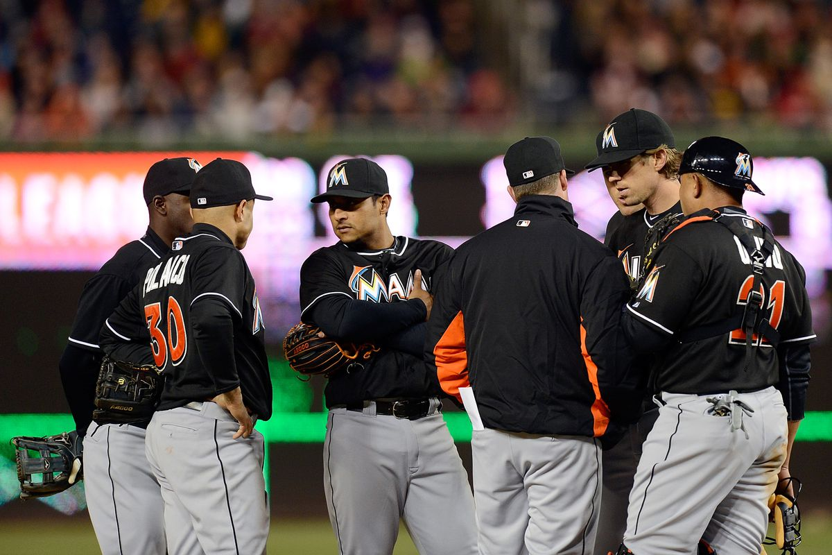 Kevin Slowey was effective enough for the Miami Marlins to avoid much of these conversations at the mound.