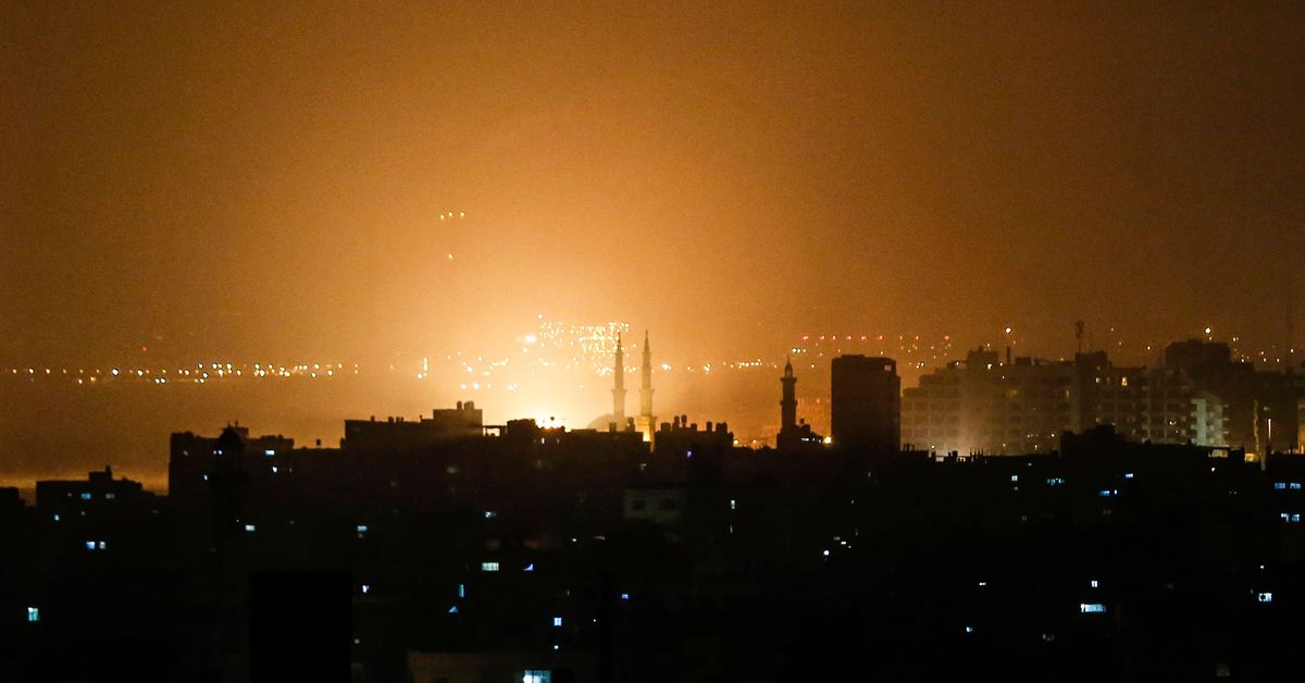 Israel responded forcefully to rockets launched from Gaza