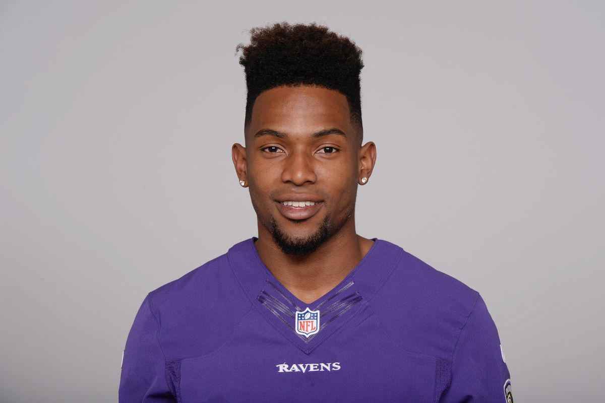 FILE: This is a 2016 photo of Will Davis, then with the Baltimore Ravens. Davis, the former Utah State Aggies cornerback, signed with the San Francisco 49ers on Thursday.