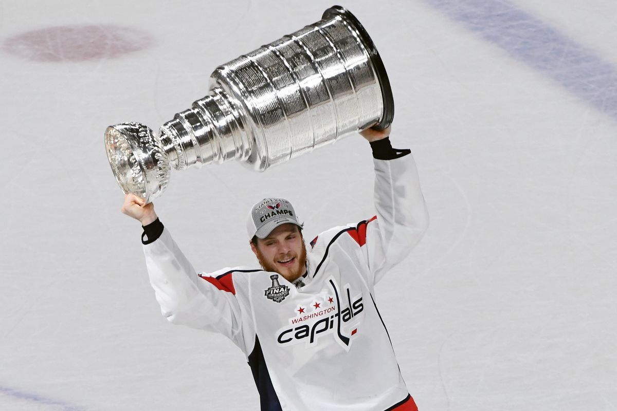 64fc05970ca Capitals Re-Sign John Carlson - Japers  Rink