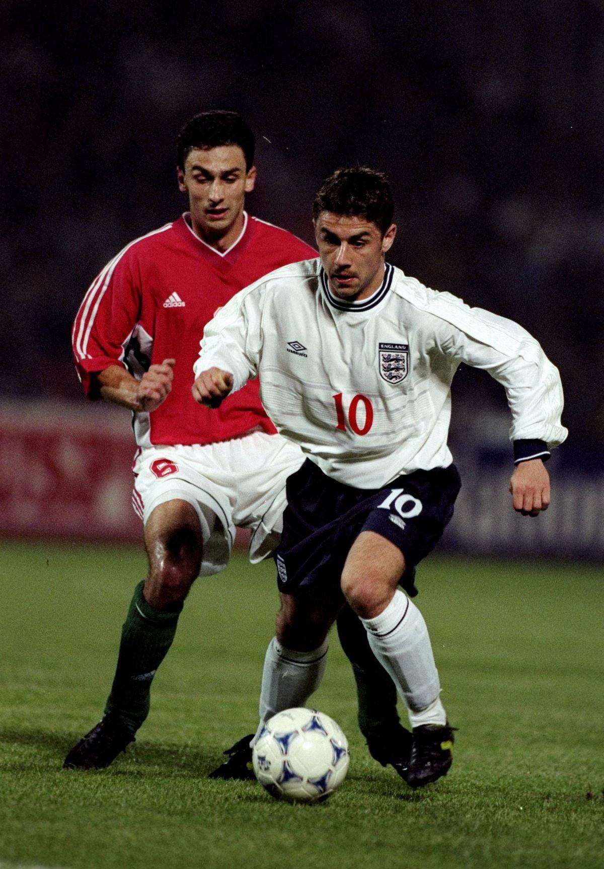Hungary v England Kevin Phillps