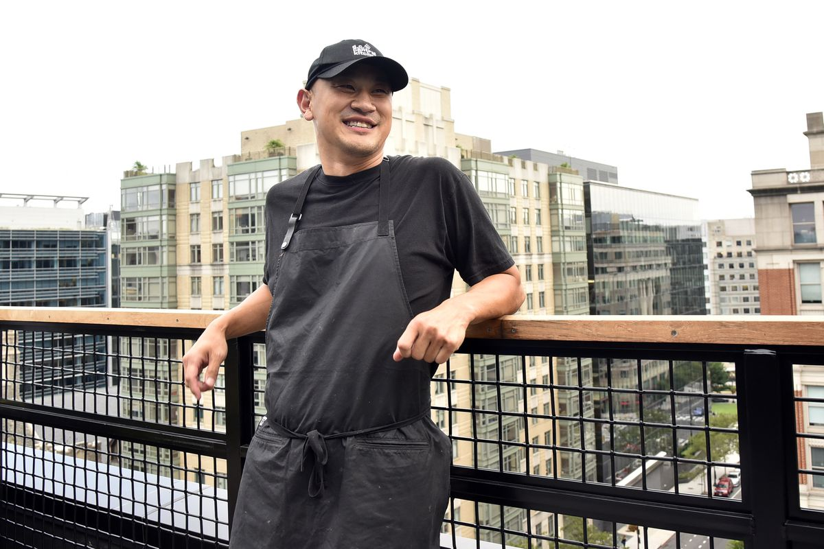 A picture of chef Tim Ma at the Eaton hotel
