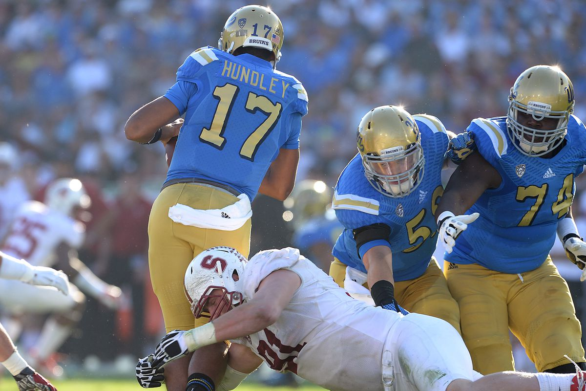 This happened a lot in the 2nd half to Brett Hundley.