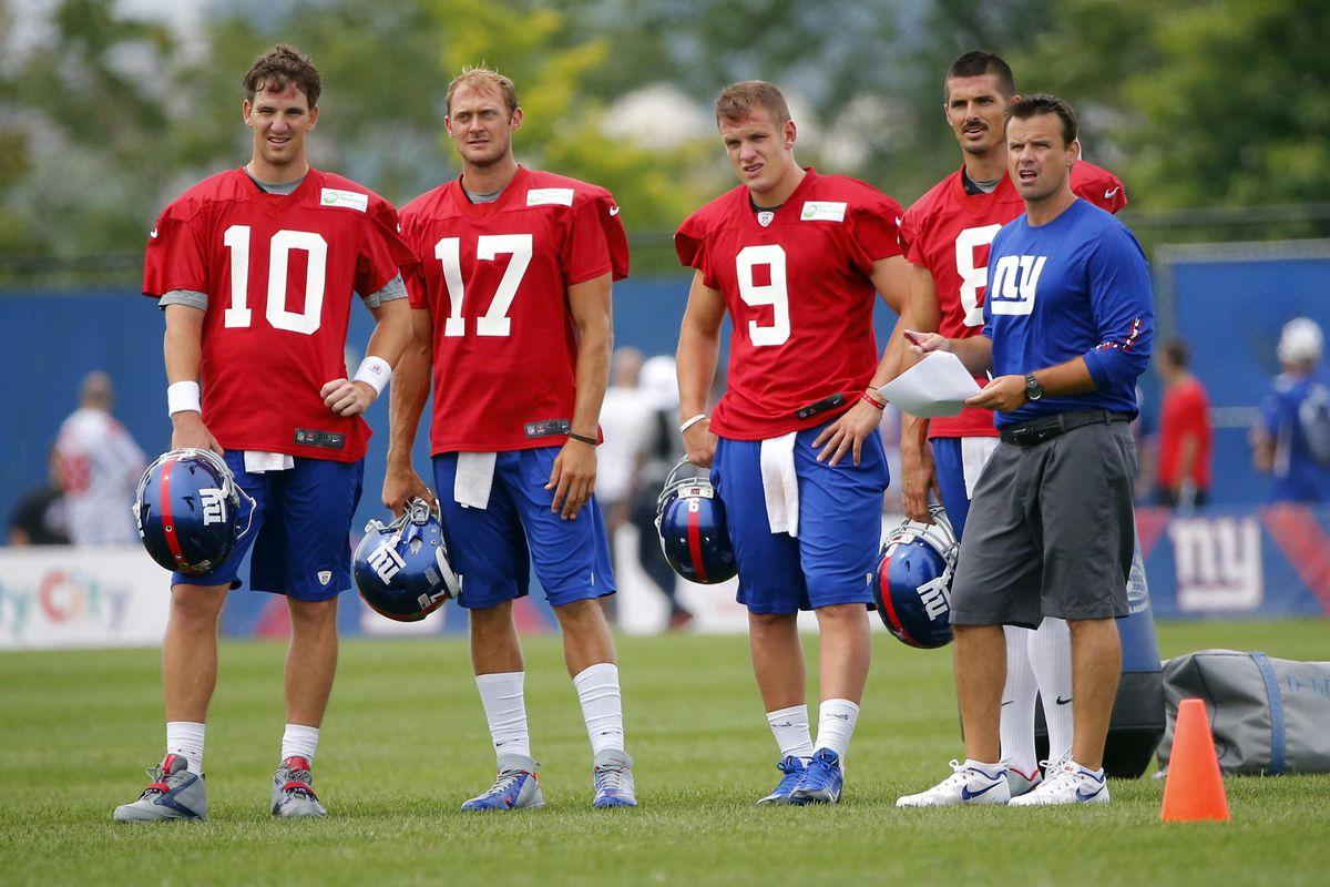 Is Giants' quarterbacks coach Sean Ryan on the hot seat?