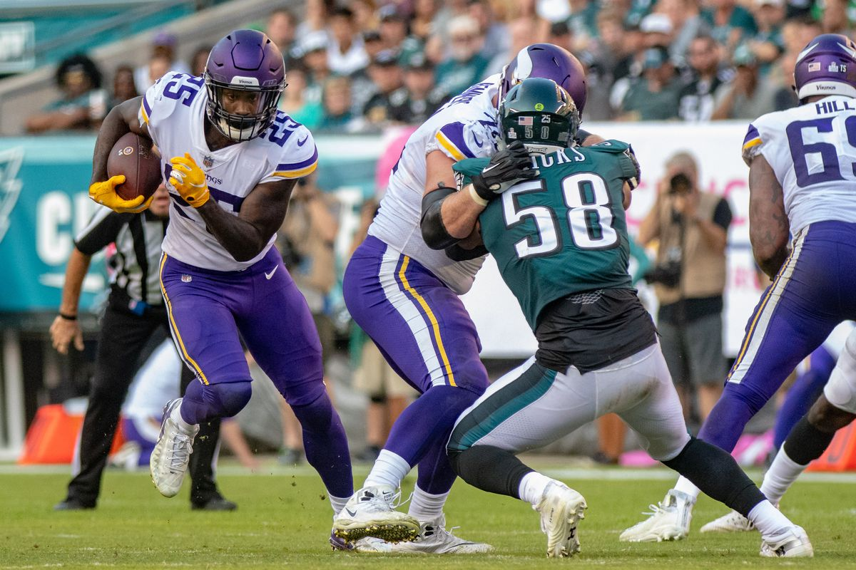 NFL: OCT 07 Vikings at Eagles