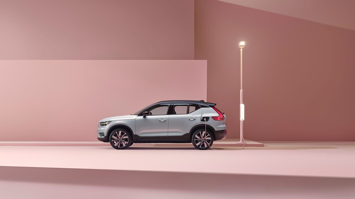 Volvo Dealership Los Angeles >> Volvo Unveils Its First Fully Electric Car And Pledges To Go