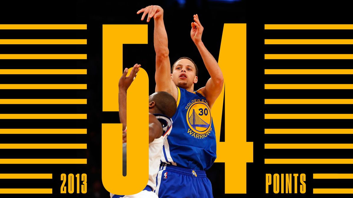"""ccc72b9ffcc The night Stephen Curry scored 54 points at MSG and changed basketball  forever. """""""