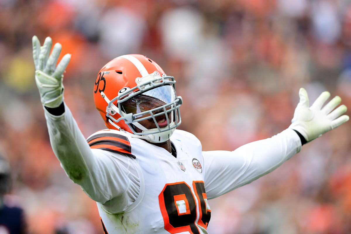 The Browns' Myles Garrett feasted on Matt Nagy's plan and the Bears' faulty offensive line for 4.5 sacks.
