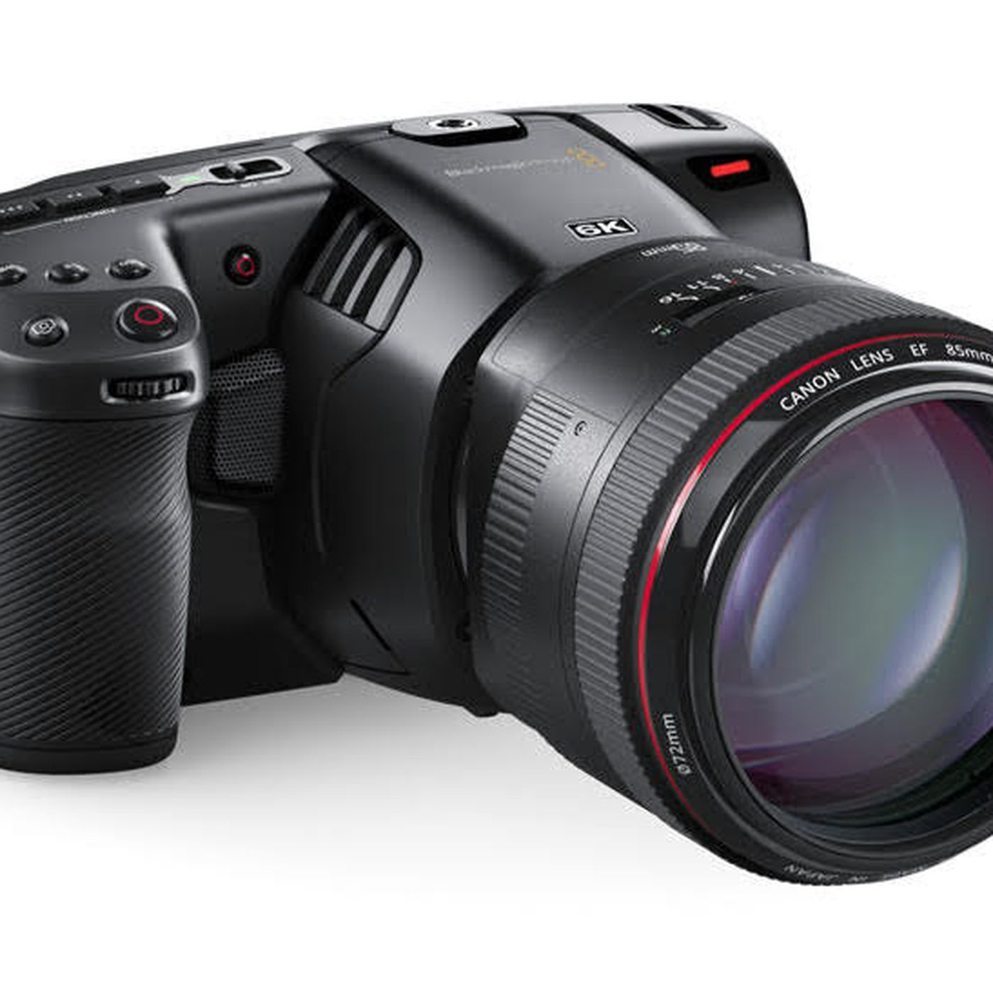 Blackmagic announces Pocket Cinema Camera 6K - The Verge