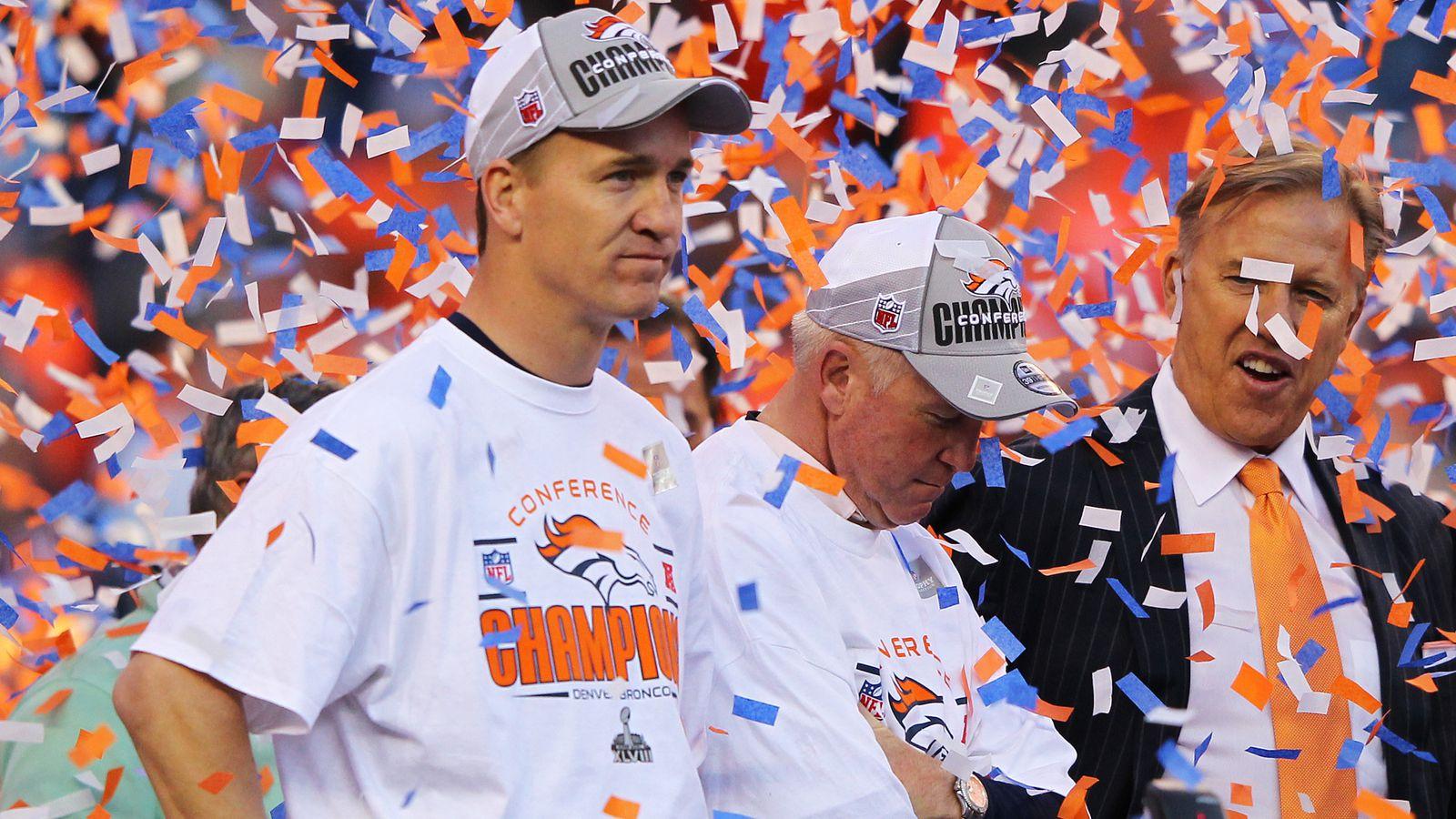Peyton Manning的无情告别巡演继续进行