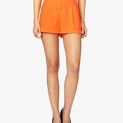 """High Waisted Shorts at Forever21, <a href=""""http://www.forever21.com/Product/Product.aspx?BR=f21&Category=bottom_shorts&ProductID=2023978712&VariantID="""">$19.80</a>"""