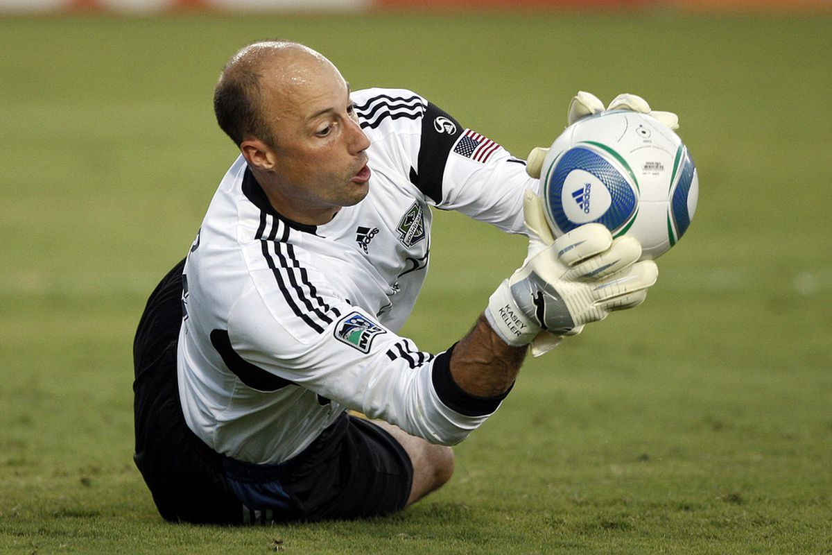 Kasey Keller prevented an absolute blow-out. Next year Seattle could be very average.