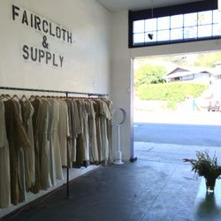 <i>Faircloth & Supply is is open from 11am to 7pm daily for the next three weeks.</i>