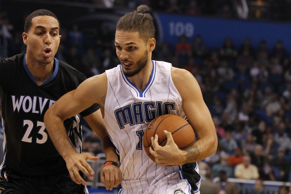 Kevin Martin and Evan Fournier