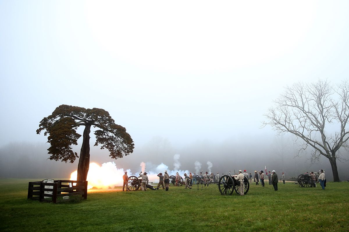 Appomattox Marks 150th Anniversary Of Surrender Of Lee's Army In Civil War