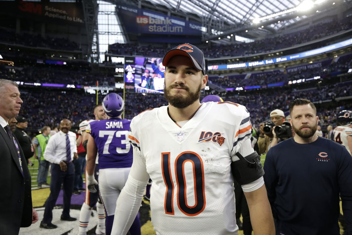 Mitch Trubisky is in line to start again for the Bears in 2020.