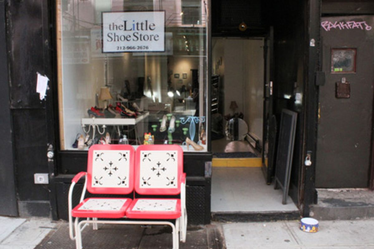 """Image via <a href=""""http://www.dnainfo.com/new-york/20120606/lower-east-side/little-shoe-store-for-tiny-feet-finds-home-on-orchard-street#ixzz1x0uJGNaT"""">DNAinfo</a>"""