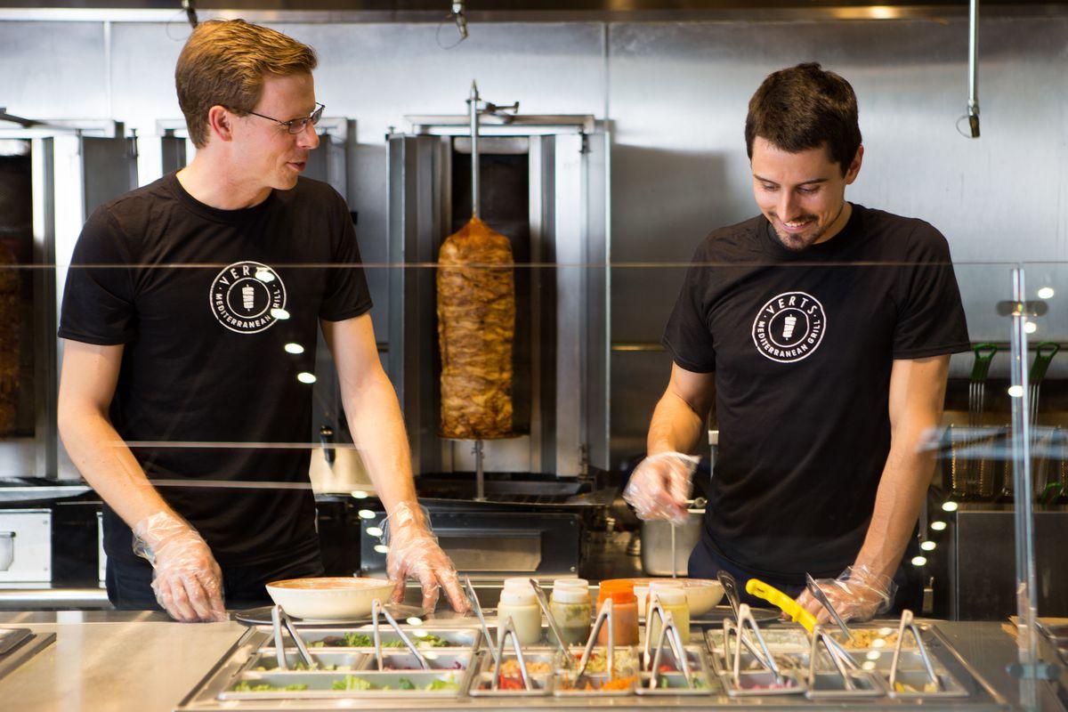 Verts founders Michael Heyne and Dominik Stein
