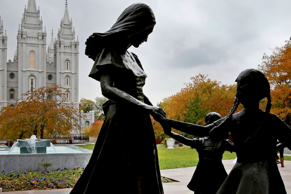 """Historian Colleen McDannell's latest book is """"Sister Saints: Mormon Women Since the End of Polygamy."""""""