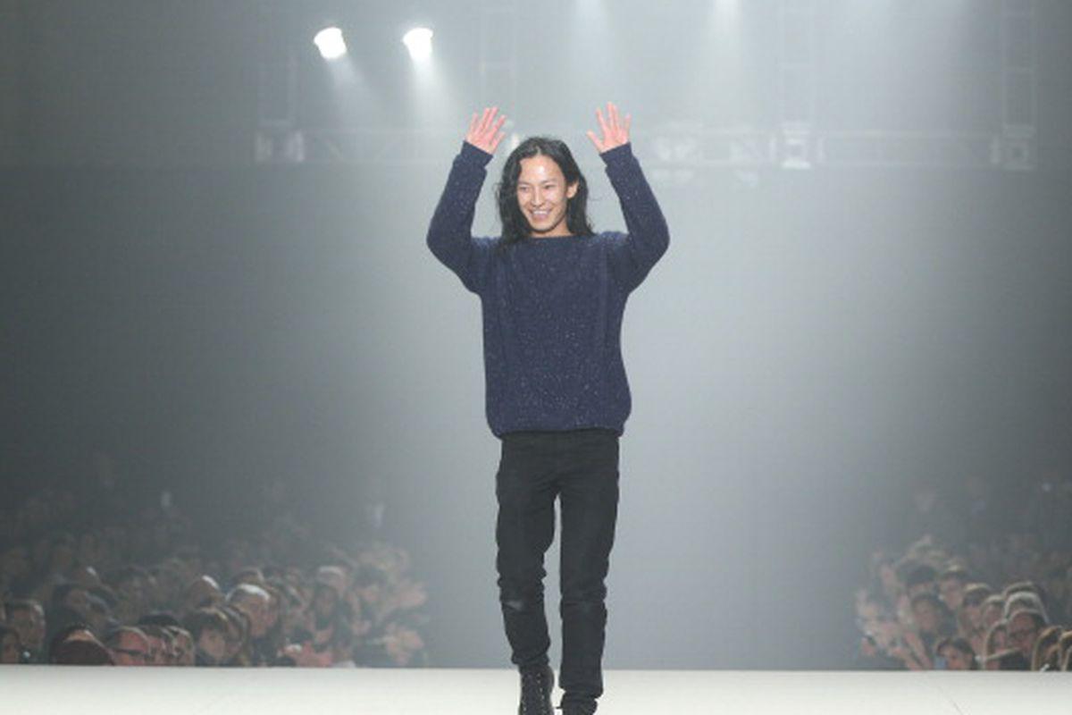 Designer Alexander Wang. Image via Getty.