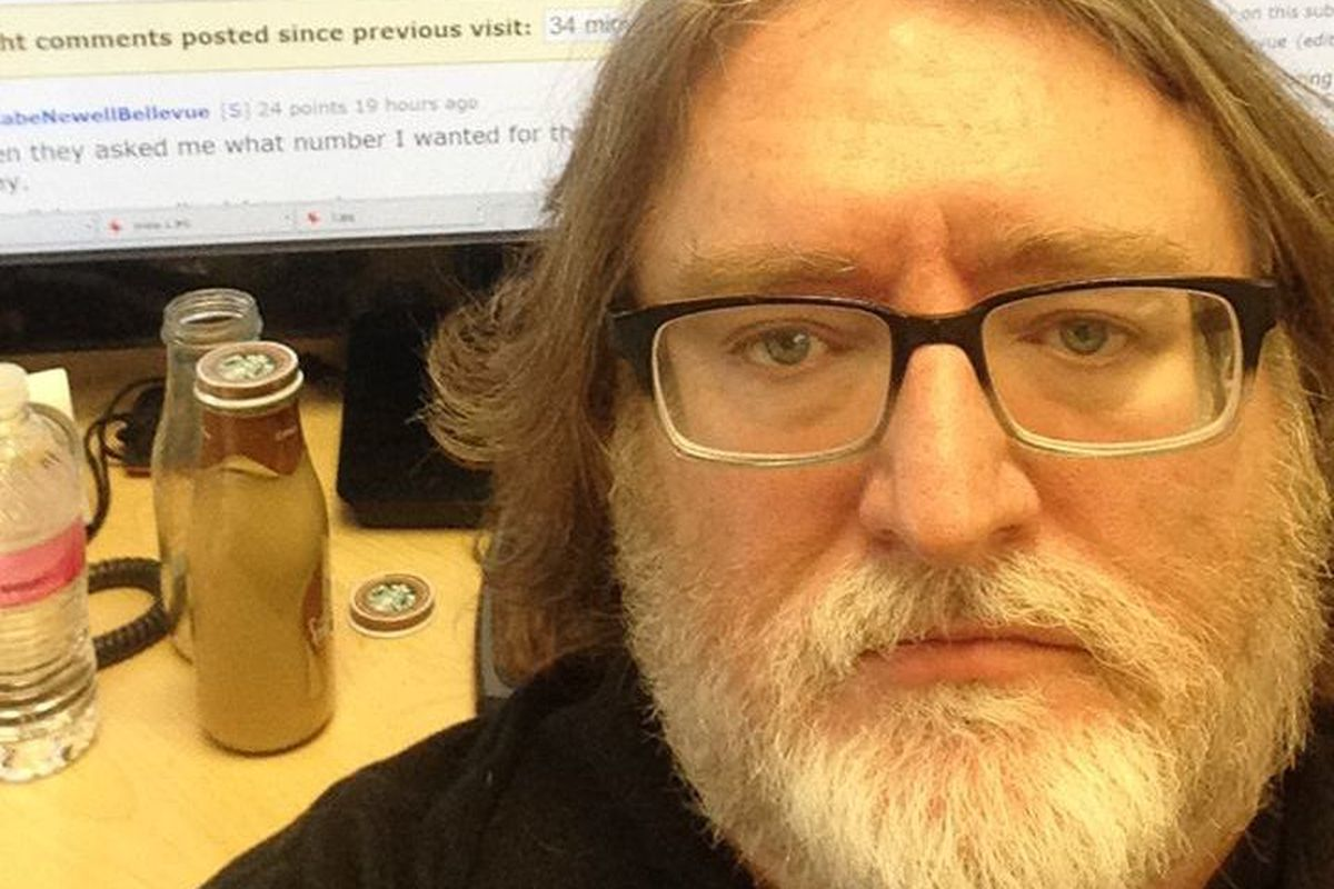 Newells Picture: The Curious Incident Of The Disappearing Gabe Newell AMA