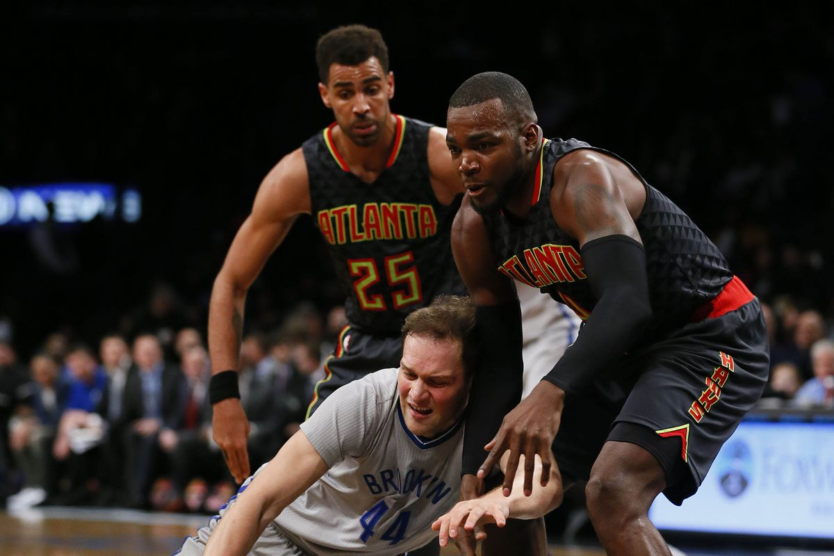 NBA: Atlanta Hawks at Brooklyn Nets