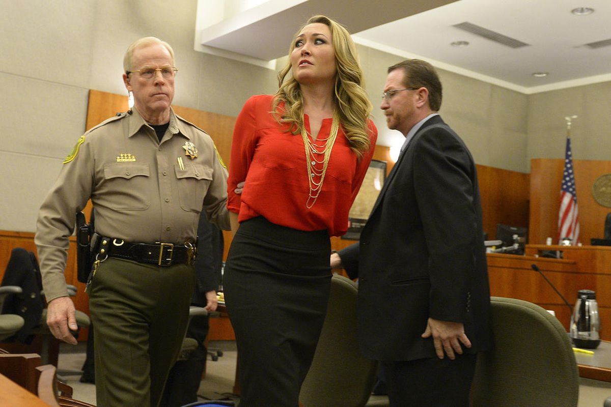 Brianne Altice, 35, was taken into custody and ordered to stand trial in 2nd District Court after Judge John R. Morris refused to set bail, Thursday, January 15, 2015.