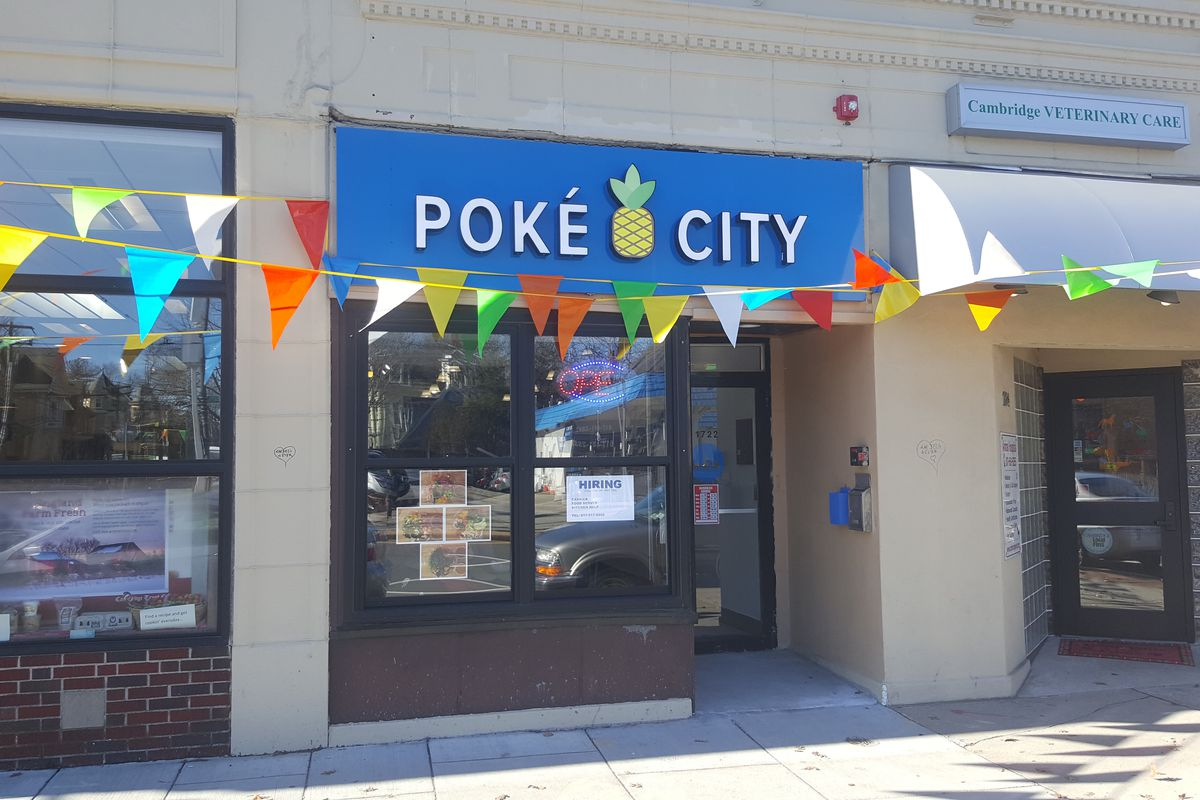 Poke City in Cambridge